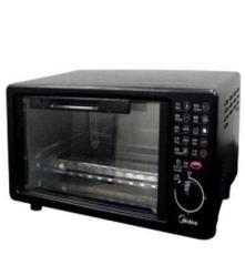 美的電烤箱MT10AH-AA 優質不銹鋼內膽 10大空間少烤箱 正品聯保