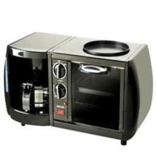 尚朋堂歐式早餐機YS-OT0508D 立式迷你烤箱、咖啡機、烤盤三合一