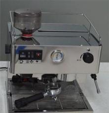 供應Milesto咖啡機 EM-19帶磨豆機功能適合小型奶茶店咖啡館