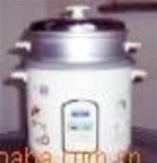 湛江三角电饭锅700W4L花色外壳不粘内锅铝蒸盘