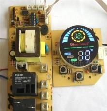 廠家大量直銷供應LED彩屏熱水器控制板、貯水恒溫熱水器控制板