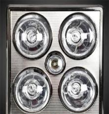 賽皇電器 集成吊頂浴霸 四燈三合一照明+取暖+換氣 合金面板