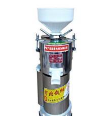 山東菏澤100型商用豆漿機漿渣分離磨漿機大豆打漿機