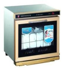 金兔電熱消毒毛巾柜 噴涂單門單層消毒柜 全自動消毒柜