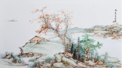景德镇陶瓷壁画厂家器世代陶瓷壁画厂陶瓷山