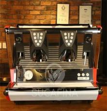 供應La SanMarco圣馬可100E窄版版 雙頭電控半自動咖啡機