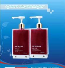 掛壁式雙頭兩用皂液器 塑料皂液盒 洗手液盒 給皂液機