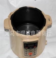 小家電批發 定時預約 多功能智能電壓力鍋 支持無水燉雞香檳色