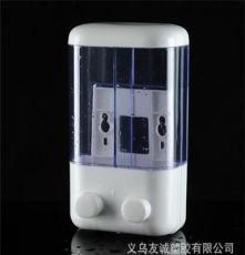 廠家供應 雙頭1000ml皂液器 酒店沐浴液皂液盒