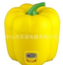 百福 電飯鍋 迷你電飯煲 0.8L辣椒小電飯鍋 番茄迷你飯煲