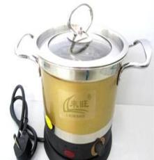 廠家直銷 炫彩多功能鍋 快速電熱鍋 蒸煮隔水燉 韓式電熱鍋