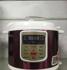 佛山廠家直銷電高壓鍋批發特價電壓力鍋帶數顯電飯煲5L壓力鍋