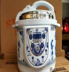 順德產特價青花瓷電壓力鍋 智能電壓力鍋 高端品牌電壓力鍋