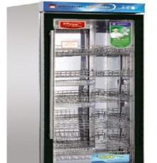 雙門餐具食具消毒柜 玻璃展示 綠菱