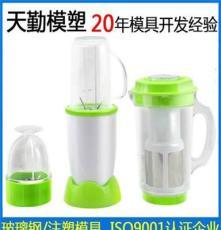 精密注塑家用小电器家用厨房塑料料理机搅拌机榨汁机外壳模具18