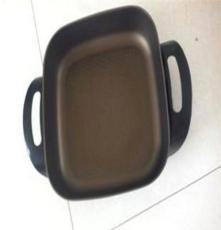 廠家大直銷加高加厚雙管多功能四方鍋 韓國煎 炸 涮 烤 煮
