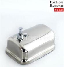 衛浴精品 不銹鋼304亮光單槽皂液器(500/800/1000ml)