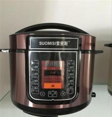 廠家直銷 電壓力鍋 多功能高壓鍋 家用電飯鍋6L禮品 電飯煲 批發