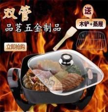 廠家直銷 韓式多功能電熱鍋 電火鍋 不粘鍋電烤鍋