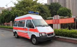 白城長途跨省120救護車出租網上預約