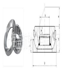FAG进口轴承,轴承代理商, 上海盖航 调心球轴承2219