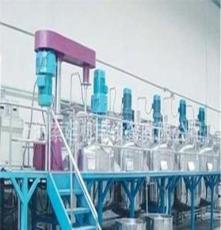 年产5000吨一体化涂料成套设备、乳胶漆设备、水性涂料设备