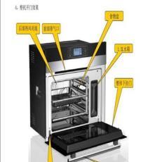 360度立體加熱 304全不銹鋼 180度高溫蒸汽烤箱