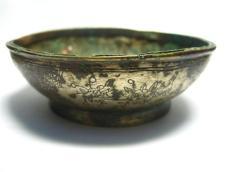 华豫之门线上鉴宝在线专家 征集花卉纹银碗