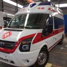 长治长途救护车出租多少米