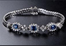 蓝宝石手链存世量多不多