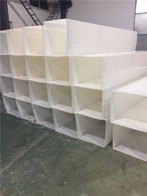 PP矩形风管安装 PP方管生产厂家神达规格全