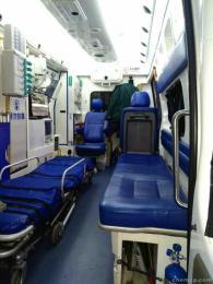 盐城本地120救护车出租收费标准