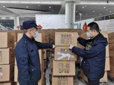 大連機場口罩專業進口物流商