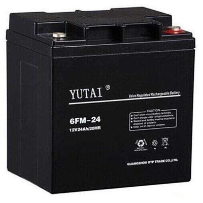 YUTAI阀控式铅酸蓄电池6FM-24 12V24AH/20HR