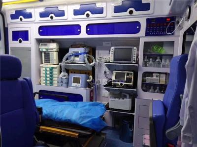 阜新长途120救护车出租全程保障