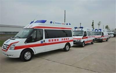 长治长途120救护车出租服务周到