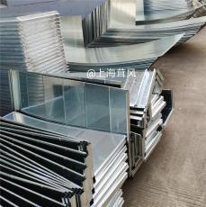 上海镀锌风管加工厂/角钢法兰加工排烟管道
