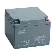 三辰蓄电池SCSP12-27阀控式铅酸12V27AH报价
