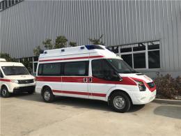 东莞长途120救护车出租跨省转送