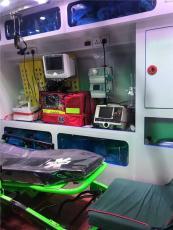 咸宁长途120救护车出租服务至上