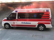 滁州長途120救護車出租收費標準