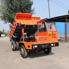 信阳水洞运料的工程车配矿山轮胎