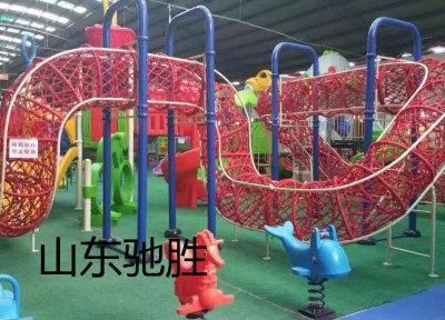 山东驰胜户外攀爬网趣味游乐设施备厂家直销