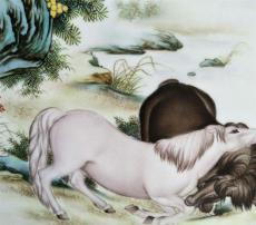 张志汤瓷板画收购在哪家公司快