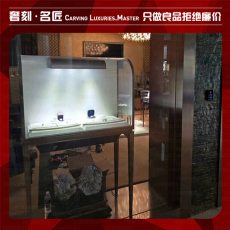 半弧卡地亞展示柜圖片卡地亞展示柜高清照片