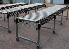 优耐德科技专业定制无动力伸缩机滚筒输送线