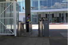 智慧園區出入口管理門禁訪客閘機