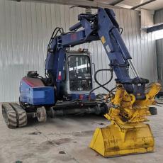 鹏神供应50-200T挖掘机配套挖掘机加装轨轮