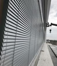 室外鋁合金電動百葉窗