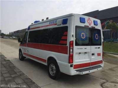 金華本地120救護車出租費用收費